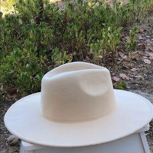 Cream western Fedora